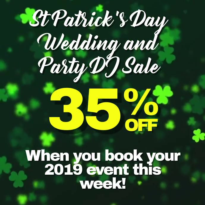 St. Patrick's Day DJ Sale