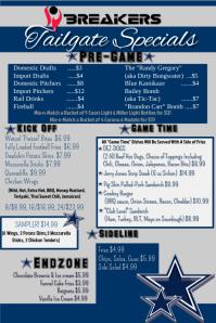 football menu