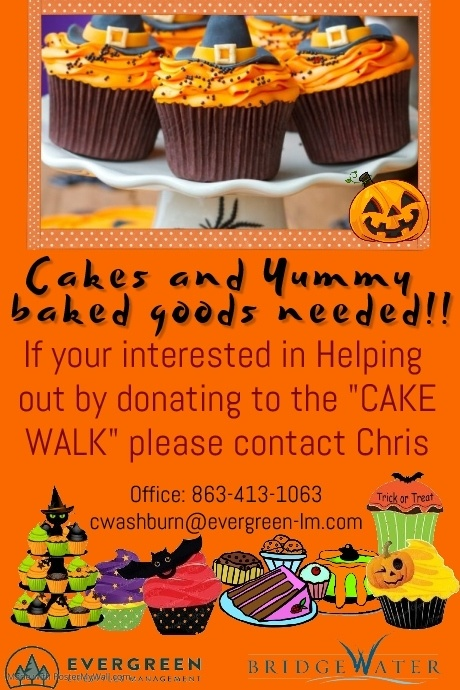 Copy of Halloween Bake sale