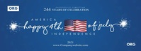 4th July Independence Cover Template Facebook-Cover