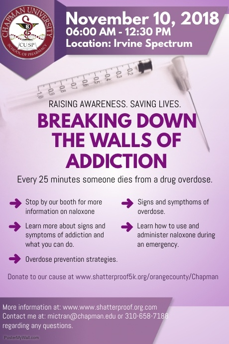 Addiction Awareness Poster