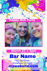 Happy Holie Bar Event Template