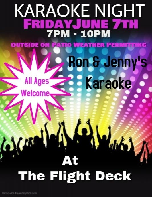 Copy of karaoke night | PosterMyWall