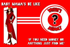 Baby Mama Carmen Sandiego