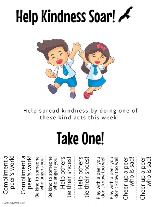 The Kindness Challenge Flyer 3