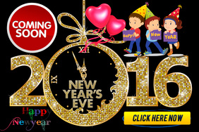 Happy New Year Eve 2016 coming Soon