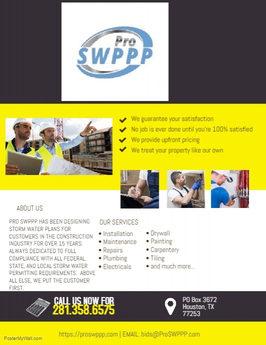 Swppp Construction Houston Tx Postermywall
