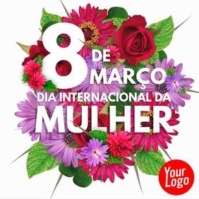 8 de março dia internacional da mulher video template