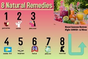 8 natural remedies/health/fight COVID-19