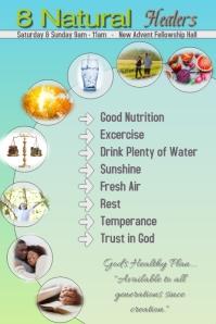 8 natural remedies/health/seminar/alternative