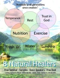 8 Natural Remedies/Health Seminar/Nutrition