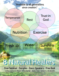 8 Natural Remedies/Health Seminar/Nutrition