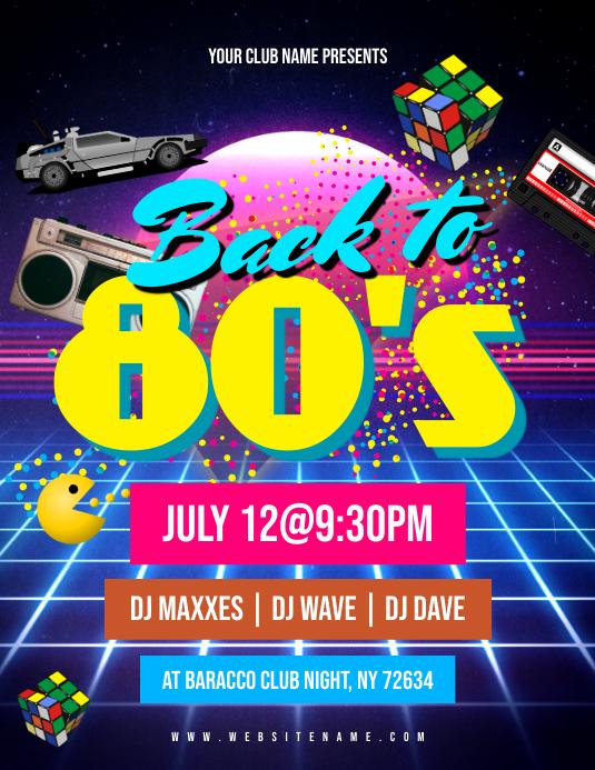 80's Night Flyer