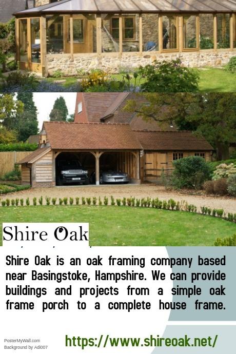 Oak Framed Buildings - Shire Oak