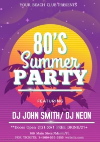 80s Summer Party