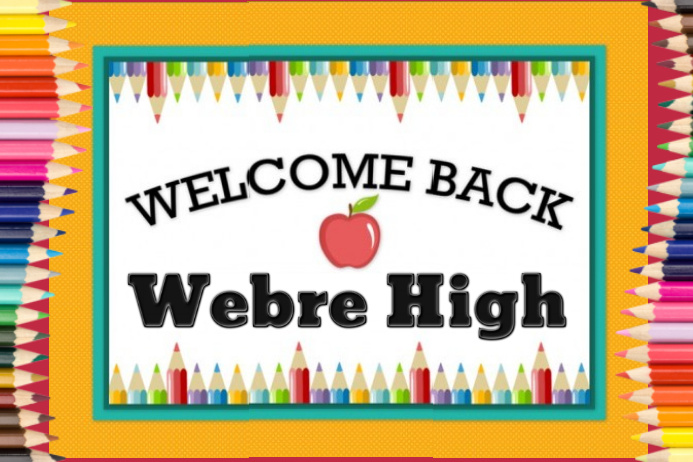 welcome back banner template