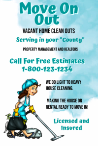 Vacant Home Clean Out Service Template