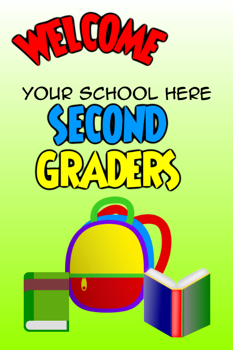 Welcome Second Graders