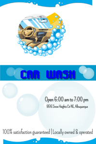 Customizable Design Templates for Car Wash Flyer | PosterMyWall