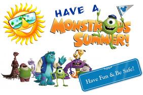 Safe Summer Poster