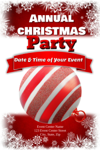 Annual Christmas Party Template