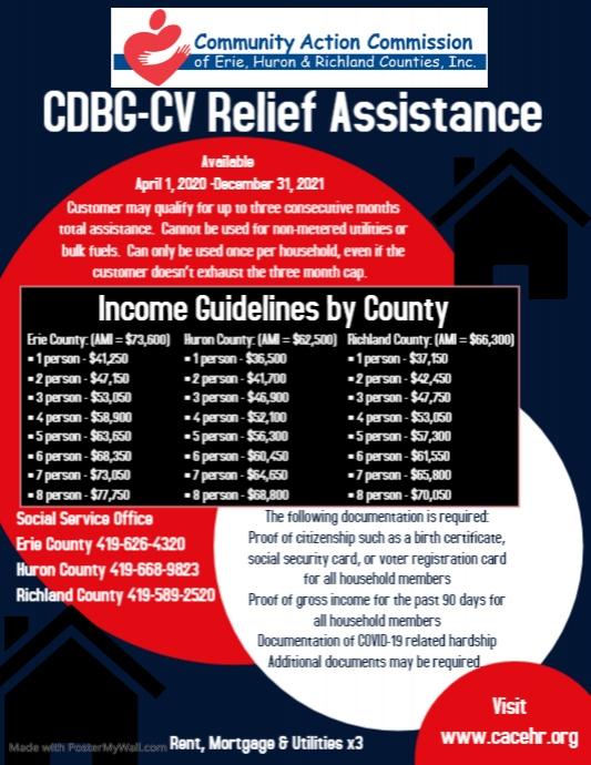 CDBG-CV Flyer (US Letter) template