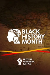 Black History Month 2021 Template 海报