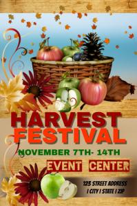 Harvest Festival Event Template