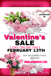 Valentine's Sales Event Template