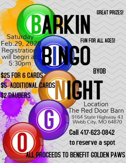 Copy of Bingo Night Flyer