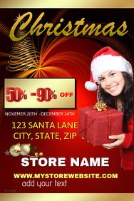 Christmas sales event Tempkate