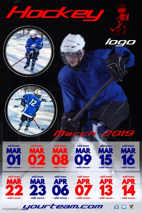 Hockey Team Poster