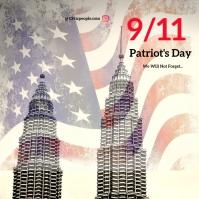 9/11 memorial day Instagram Post template