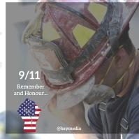 9/11 poster design template