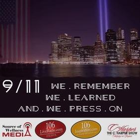 9/11 Promo Instagram Post template