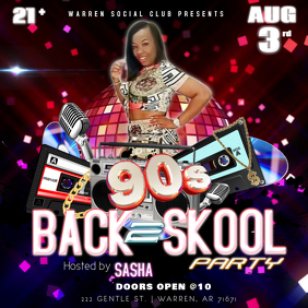 90'S BACK TO SCHOOL