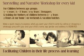 Story Creation Narration for Chidren - All age group
