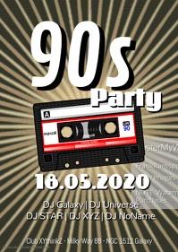90s Party Event 90er cassette