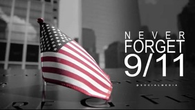 911 Memorial Facebook Video Template Facebook-omslagvideo (16:9)