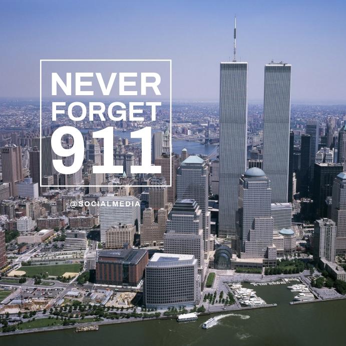 911 Memorial Flyer Template Instagram-opslag