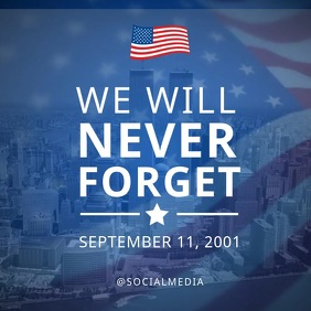 911 Memorial Flyer Video Template