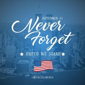911 Memorial Flyer Template Pos Instagram