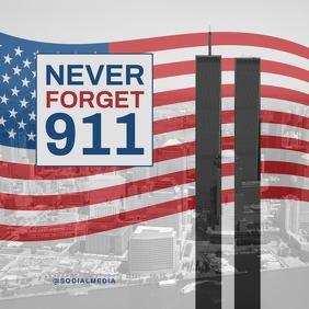 911 Memorial Flyer Template