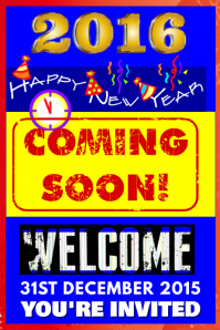 New Year Coming Soon