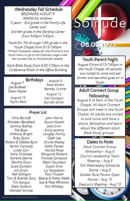 Newsletter Volante (Carta US) template