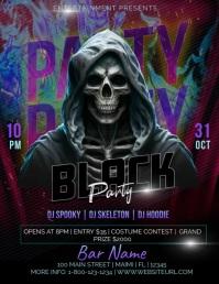 Halloween Skull Template