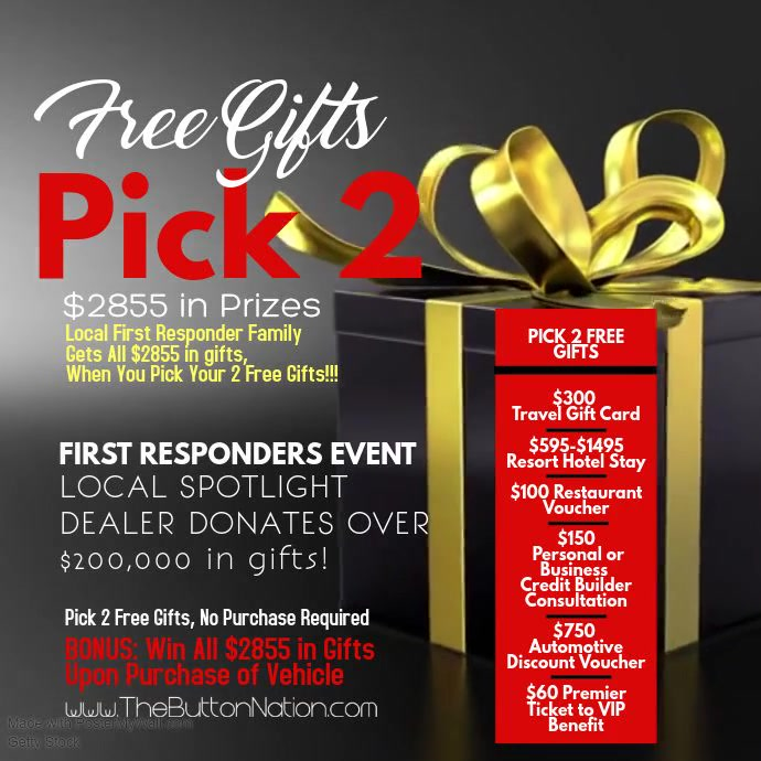 Pick 2 Gifts