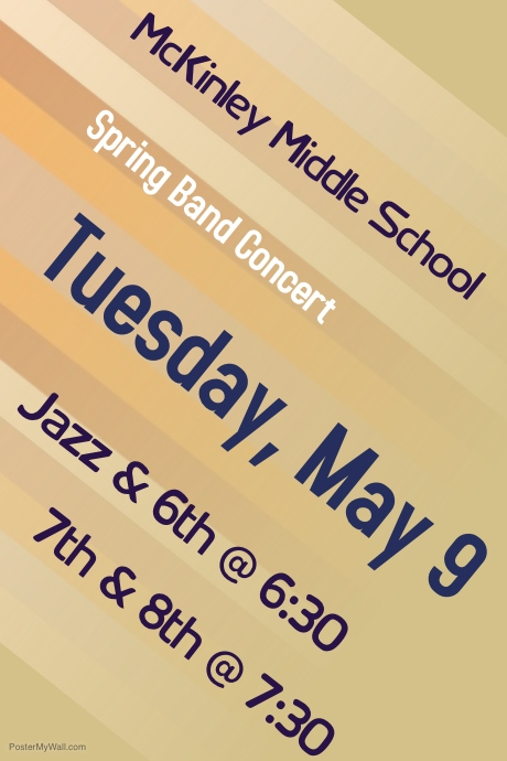 Copy of live music concert poster template