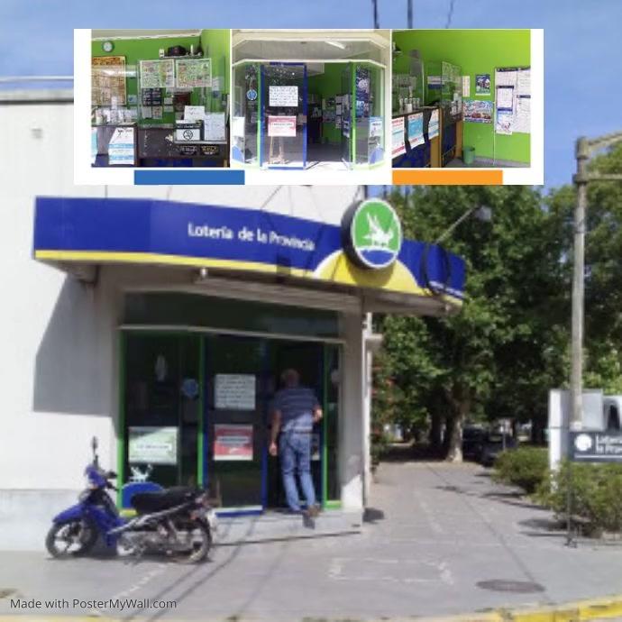 Loteria Carmen de Areco Niestandardowy rozmiar template