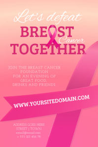 Breast Cancer Poster Template